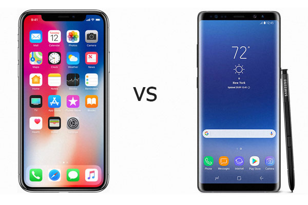 iPhoneX-vs-Samsung-Galaxy-Note8